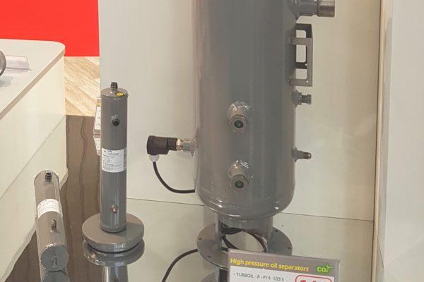 Innovation de rupture chez CARLY : une nouvelle génération de séparateur d'huile CO2 140 bars : TURBOIL-R-P 14 - INTEGRITY